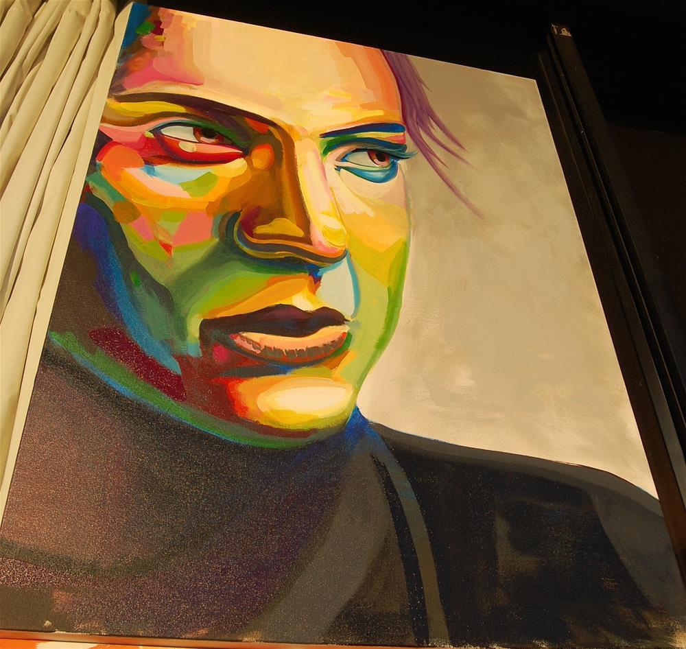 """""""color contact 4"""" original fine art by michael vigneux"""