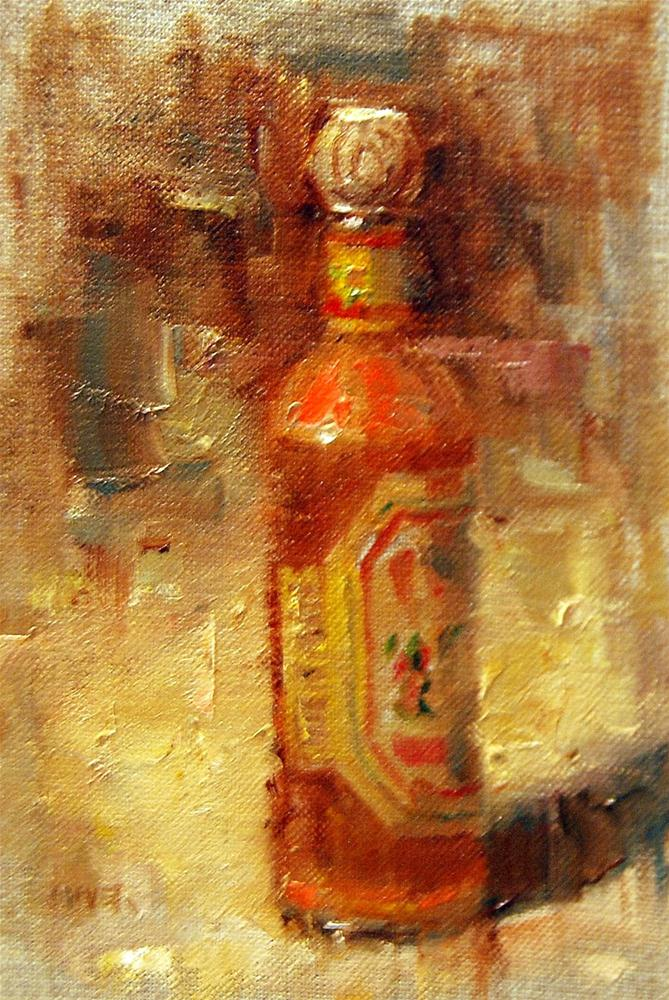 """Hot Sauce"" original fine art by Julie Ford Oliver"