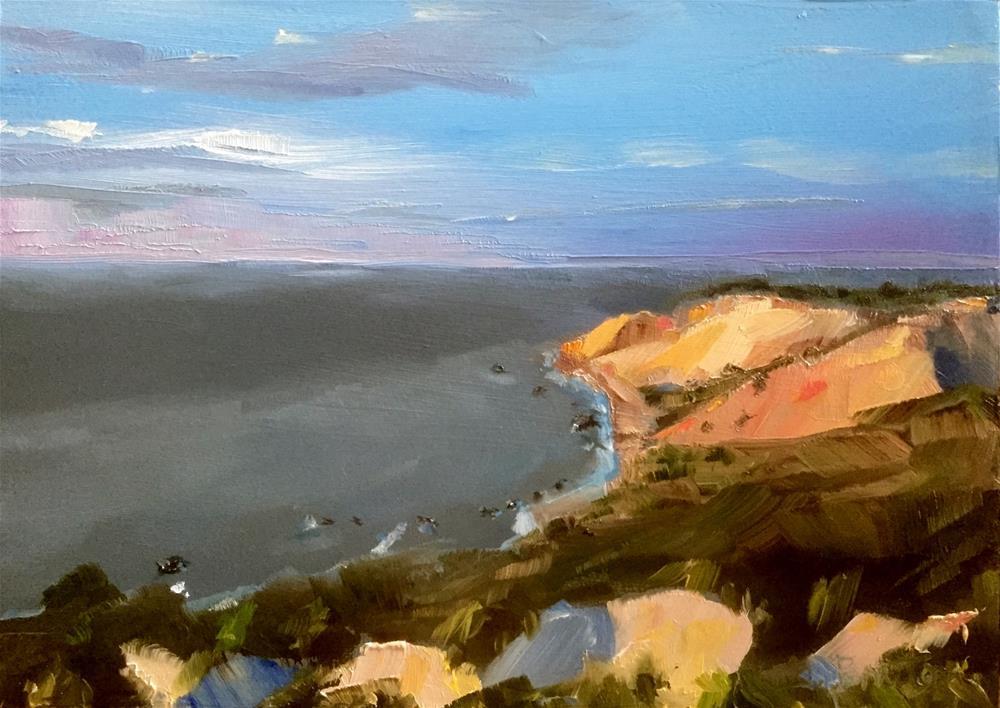 """Martha's Vineyard Seascape"" original fine art by Gary Bruton"