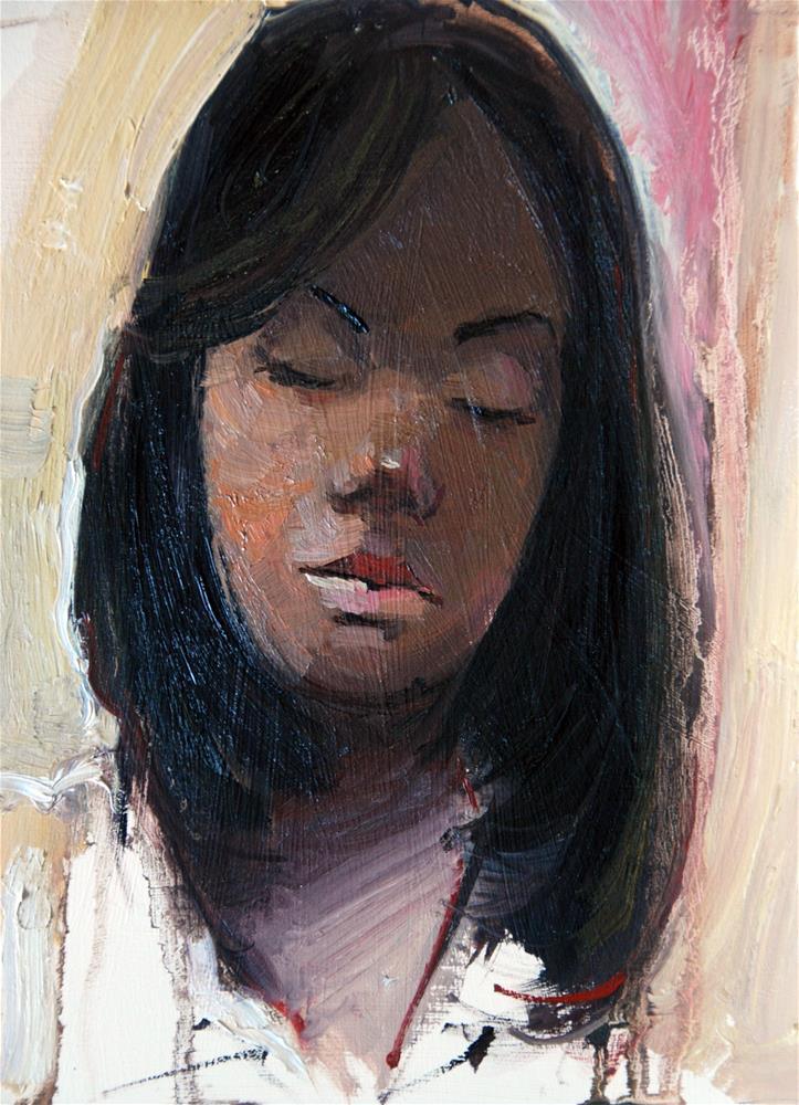 """""""The Dream"""" original fine art by Adebanji Alade"""