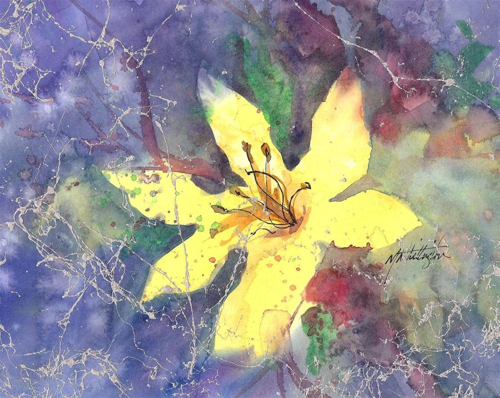 Day Lily original fine art by Margie Whittington