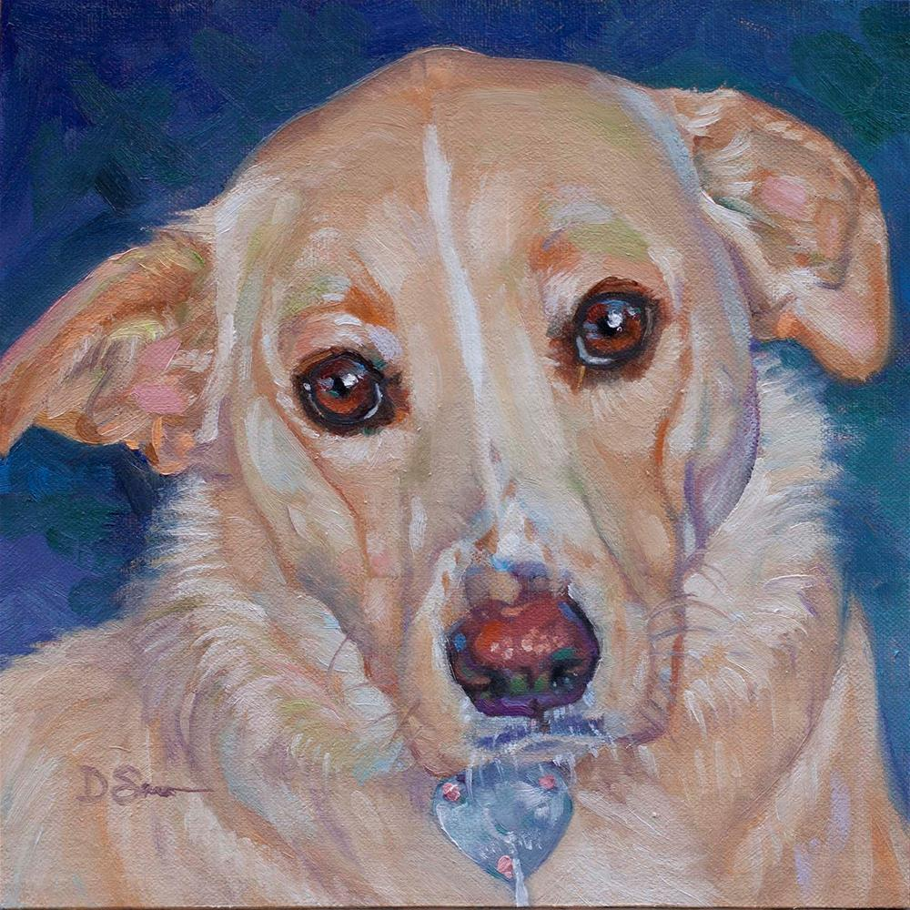 """Ms Ellie"" original fine art by Deborah Savo"