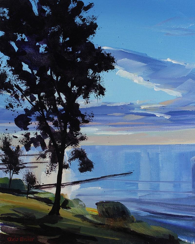 """The Pier"" original fine art by Chris  Breier"