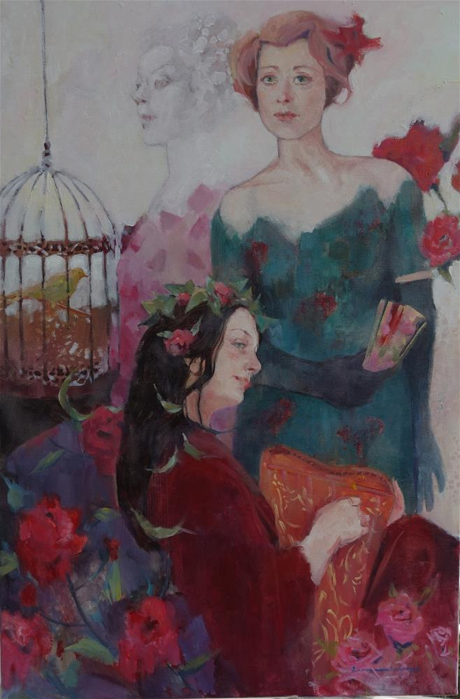 """Birdsong"" original fine art by Lorraine Lewitzka"