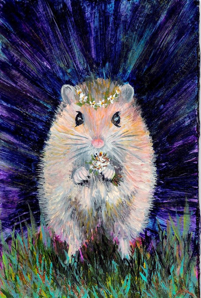 """3178 - Country Mouse - Series II"" original fine art by Sea Dean"