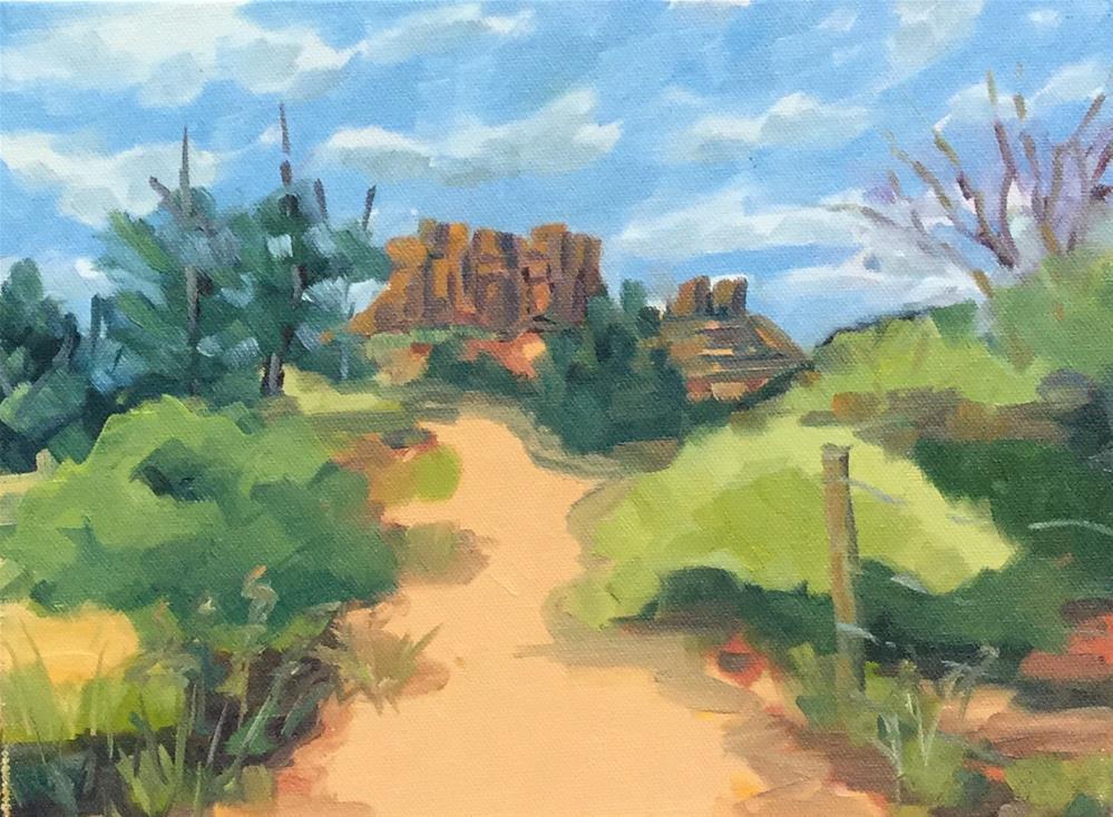 """Sedona"" original fine art by Cheryl Moody"