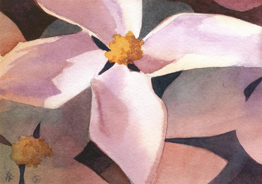 """Dogwood"" original fine art by Mark Allison"