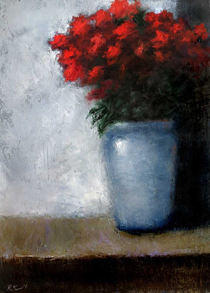 """A Bouquet of Roses"" original fine art by Bob Kimball"