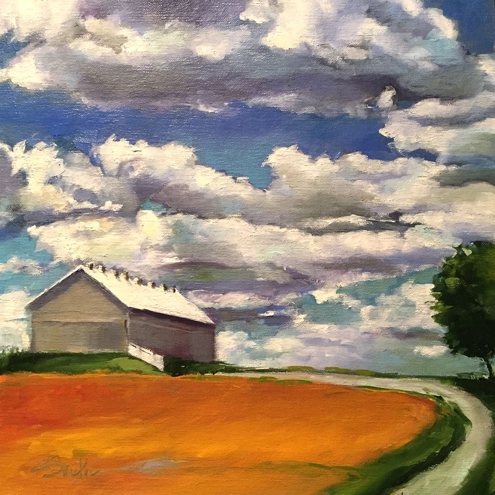 """amazing sky"" original fine art by Kim Smith"