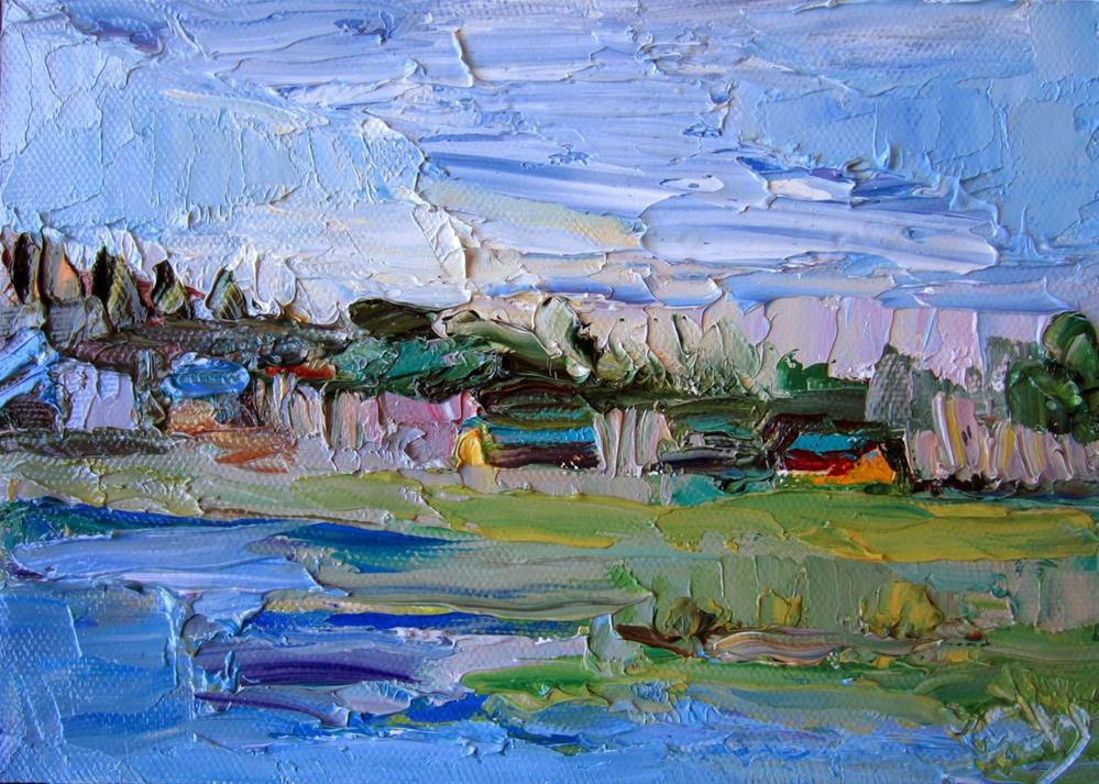 """Prairie"" original fine art by Carol Steinberg"