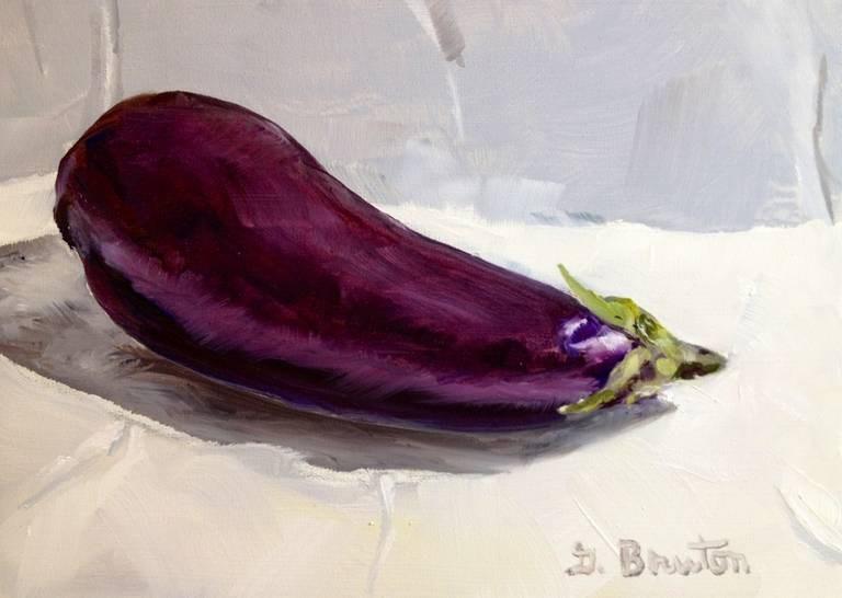 """Eggplant"" original fine art by Gary Bruton"