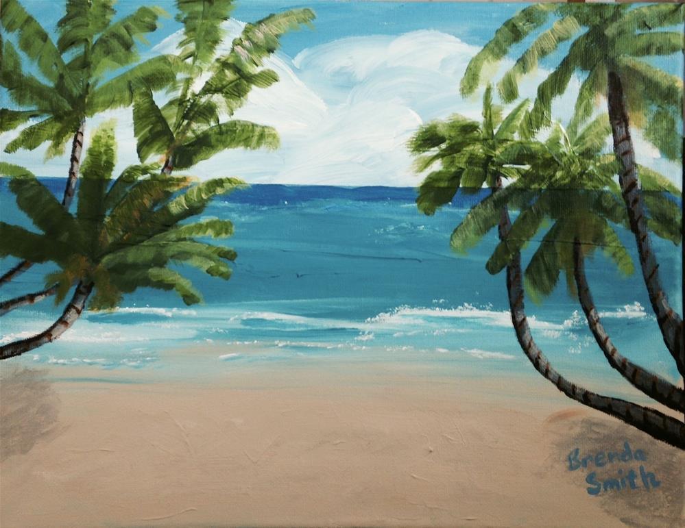 """Florida"" original fine art by Brenda Smith"