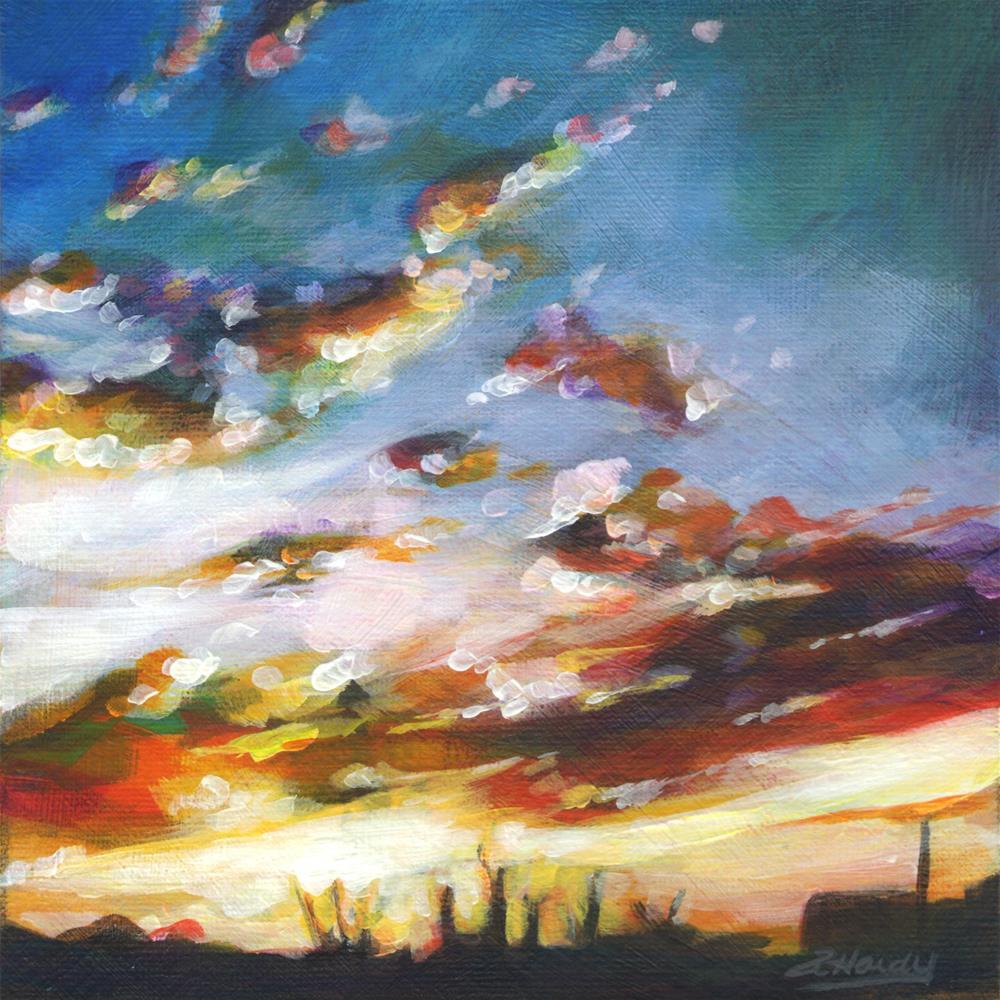 """North Light #1"" original fine art by Angela Hardy"