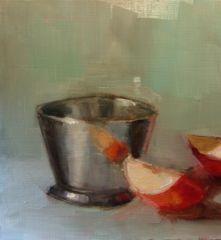 """Silver cup"" original fine art by Carol Josefiak"