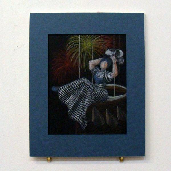 """""""Sophia Blanchard Study"""" original fine art by Bonnie Fillenwarth"""