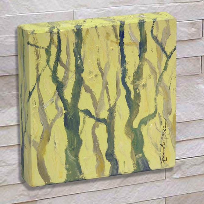 """""""Bosque 2"""" original fine art by Emilio López"""