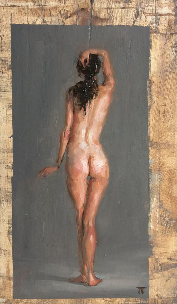 """Figure Study June 3"" original fine art by Thomas Ruckstuhl"