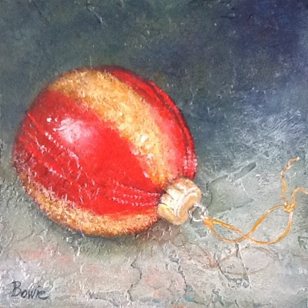 """Tis' the Season"" original fine art by Maureen Bowie"