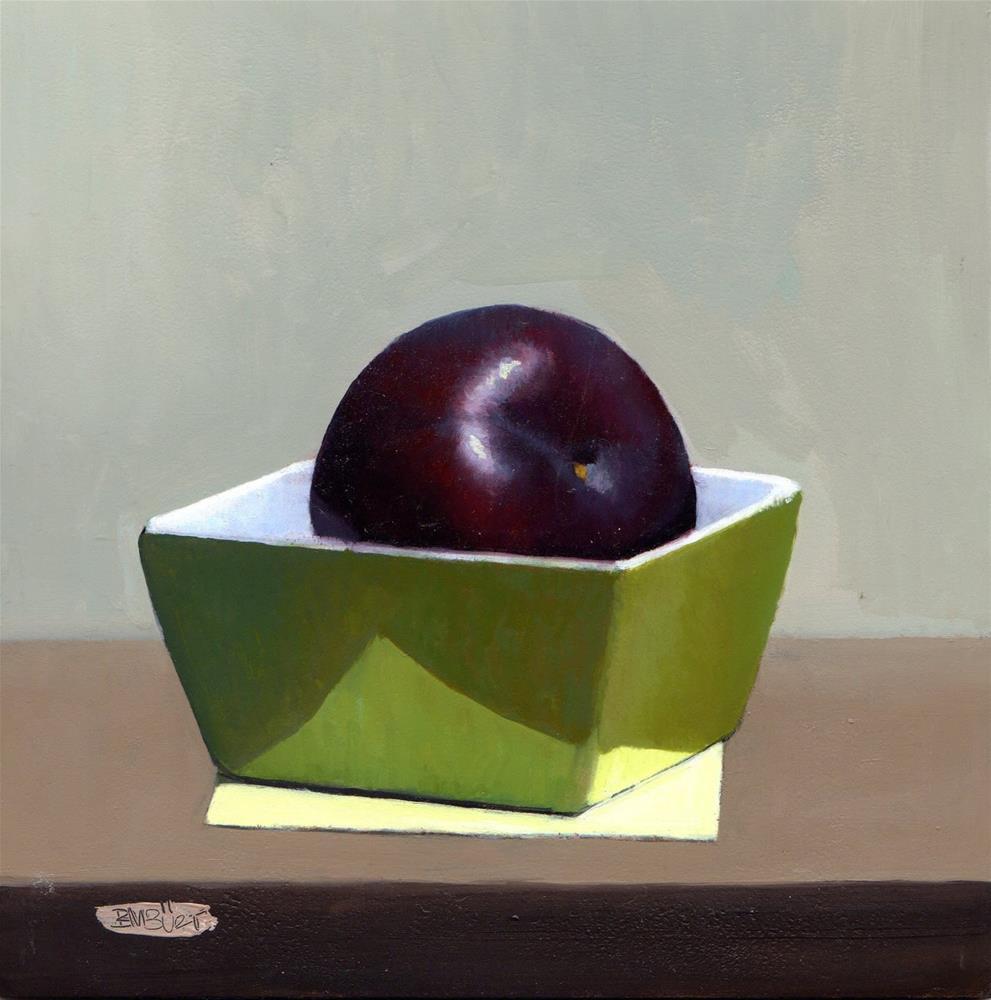 """#319 Reflecting"" original fine art by Brian Burt"