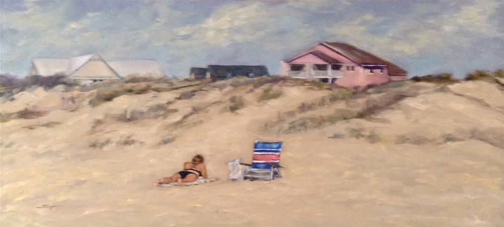 """Noon at Emerald Isle"" original fine art by Shelley Koopmann"
