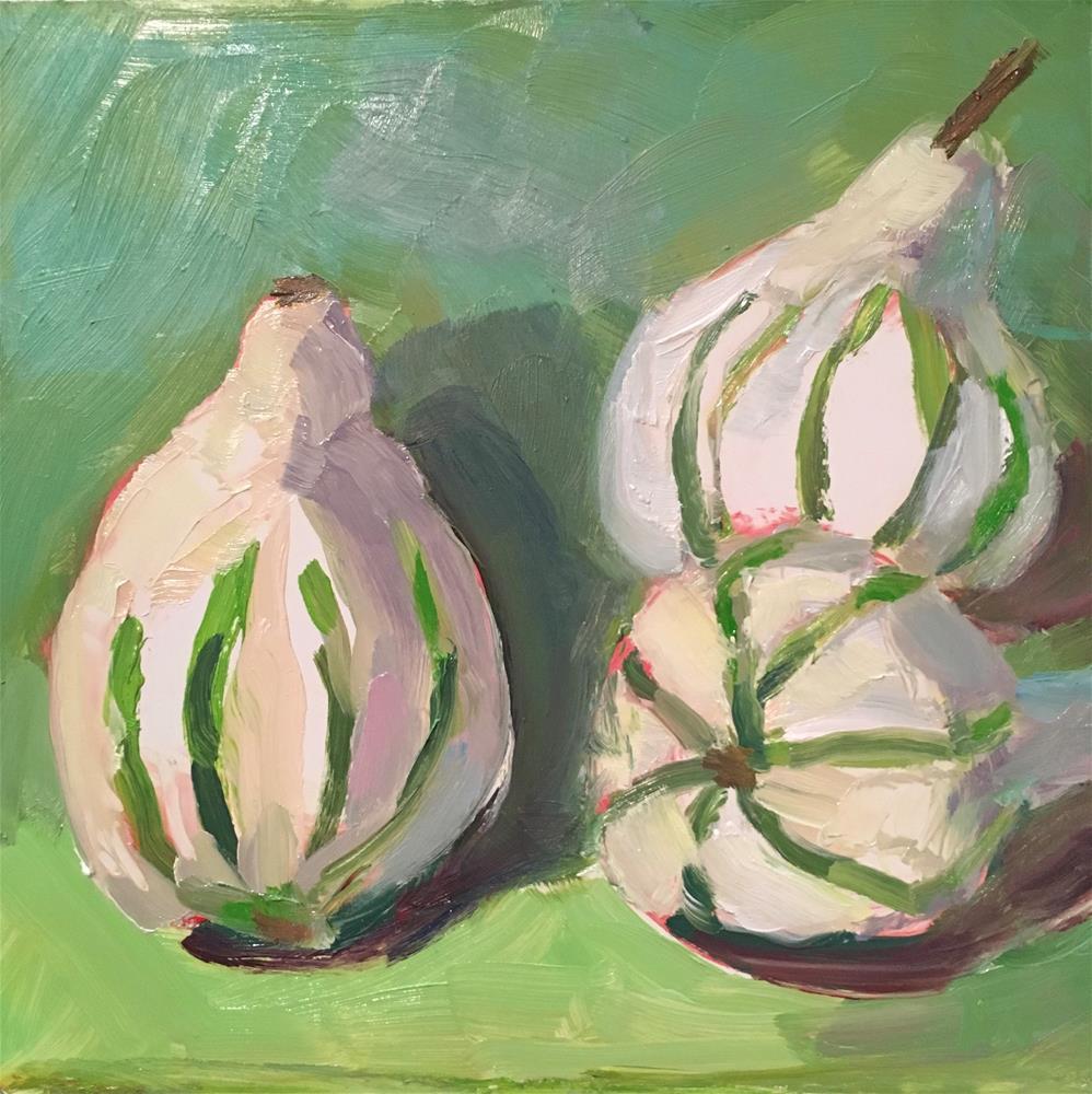 """Gourds"" original fine art by Marcia Bergtholdt"