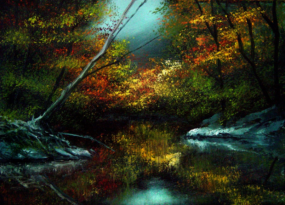 """Secret Cove"" original fine art by Bob Kimball"