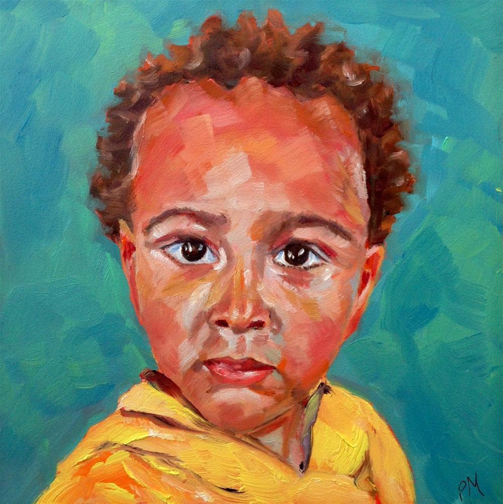"""Age 2 - Elijah"" original fine art by Piya Samant"