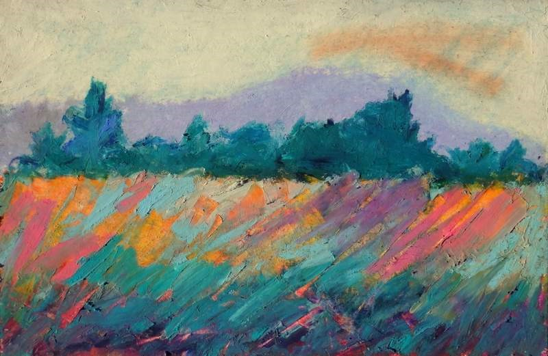 """The Valley"" original fine art by Meredith Adler"