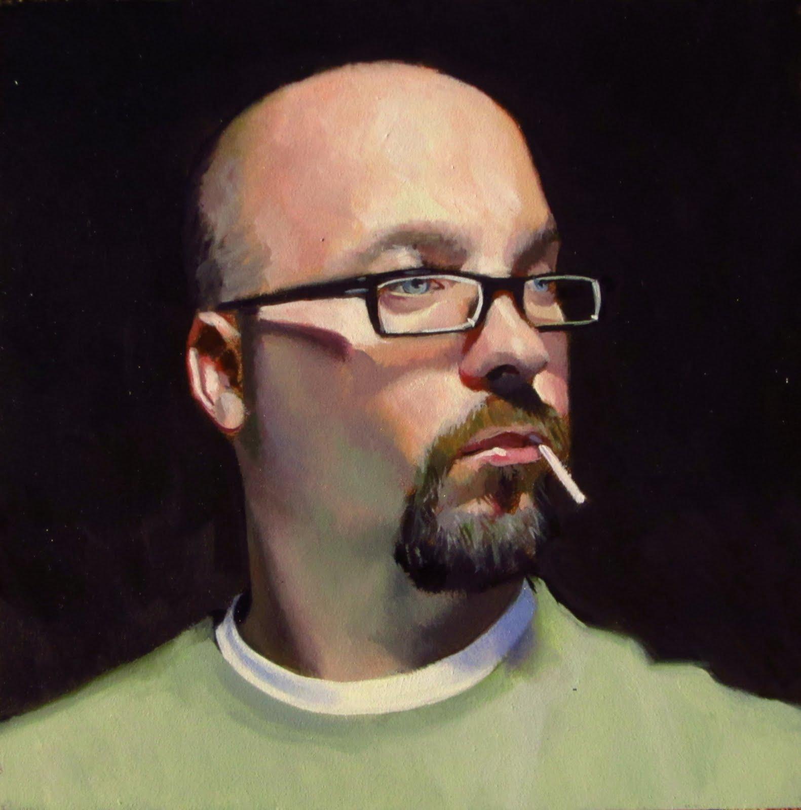 """""""DAILY DIAPER #230 Classic Sucker"""" original fine art by Brian Burt"""
