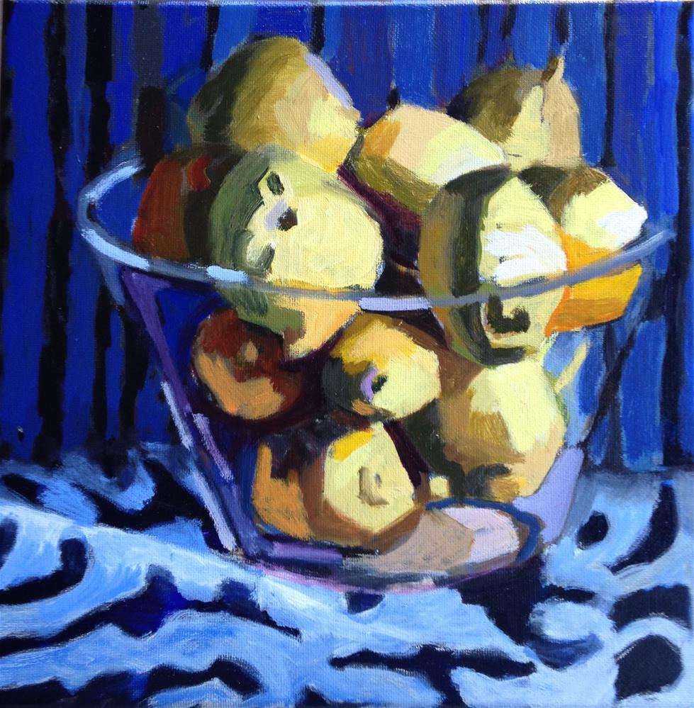 """Bowl O Sunshine"" original fine art by Pamela Hoffmeister"