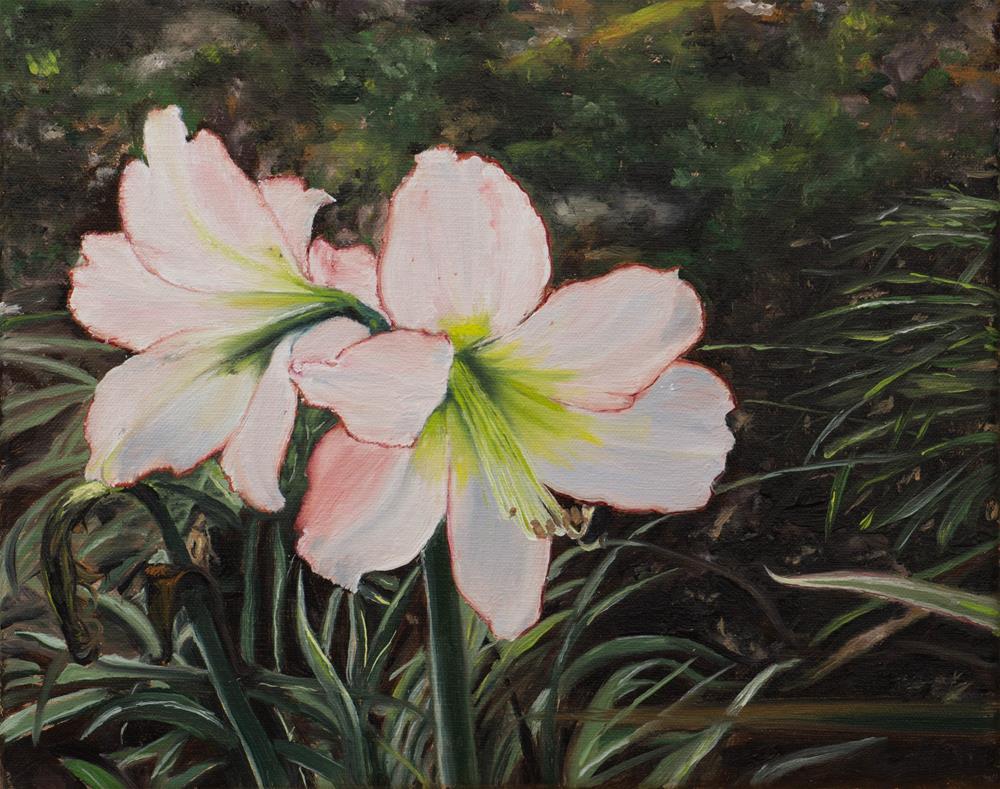 """""""Lilies"""" original fine art by Tim Gier"""