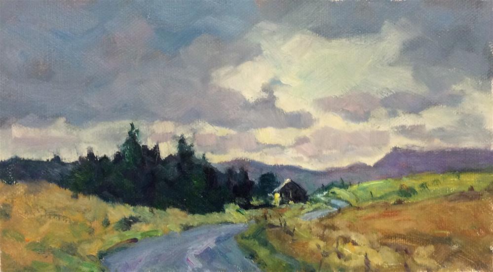 """Northumberland Landscape 5"" original fine art by John Shave"