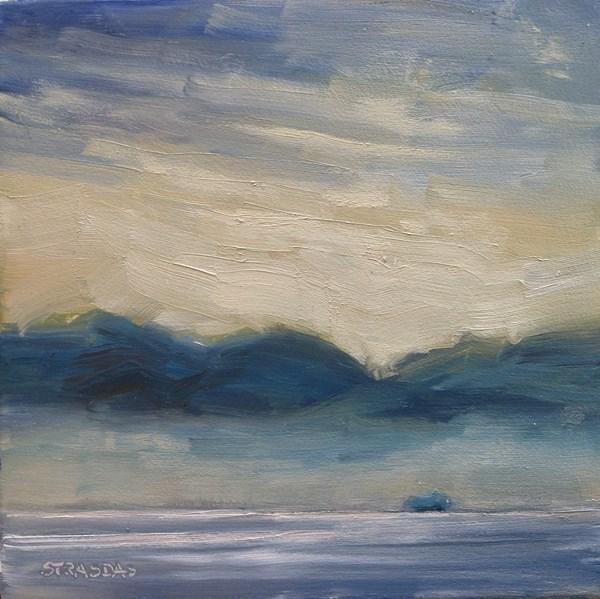 """Crossing Over"" original fine art by Marcela Strasdas"
