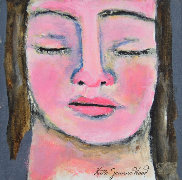 """Becca"" original fine art by Katie Jeanne Wood"