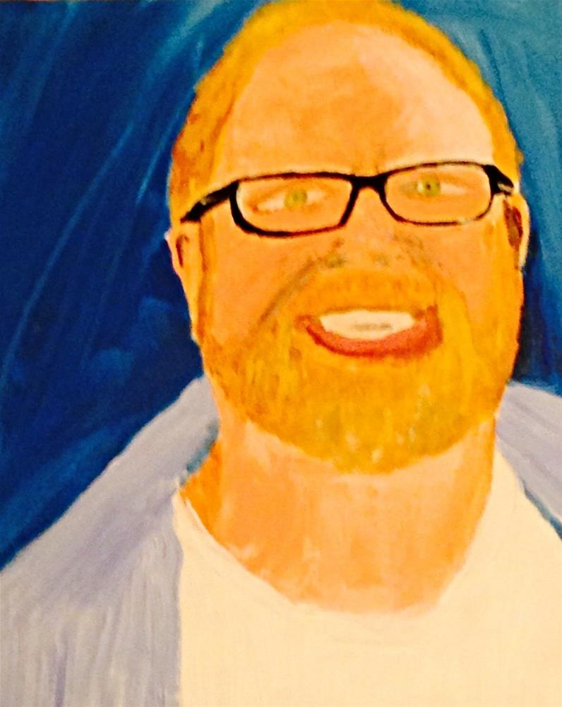 """Jimmy"" original fine art by Brenda Smith"