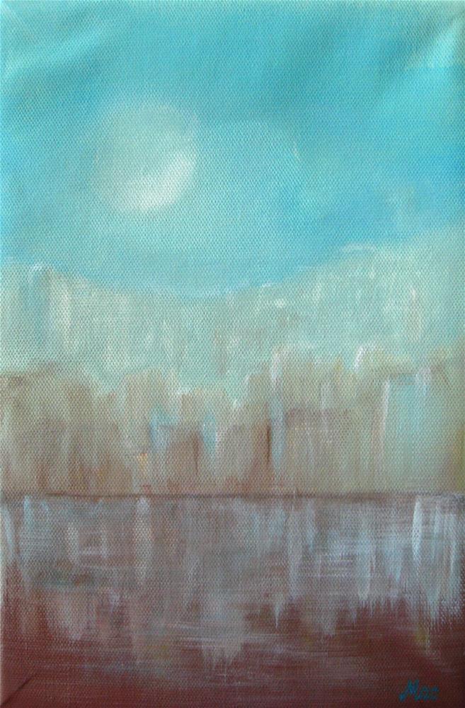 """""""Cityscape"""" original fine art by Alina Frent"""