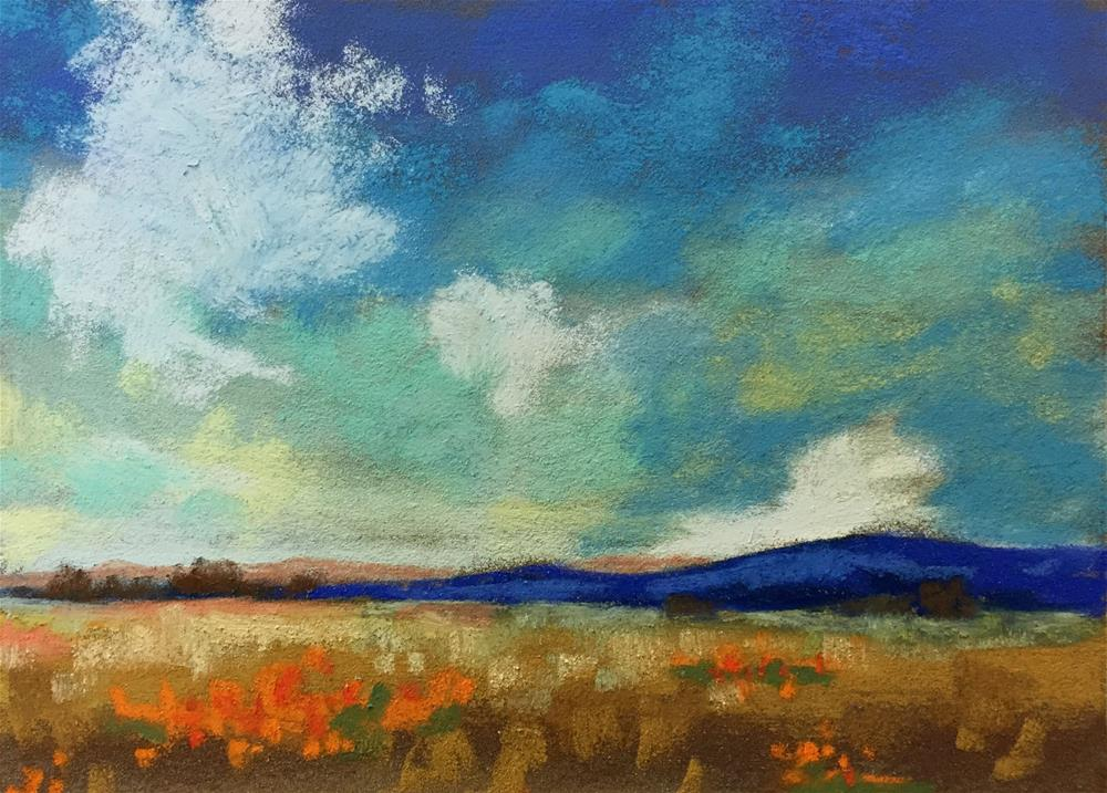 """Spacious Sky"" original fine art by Sherri Cassell"