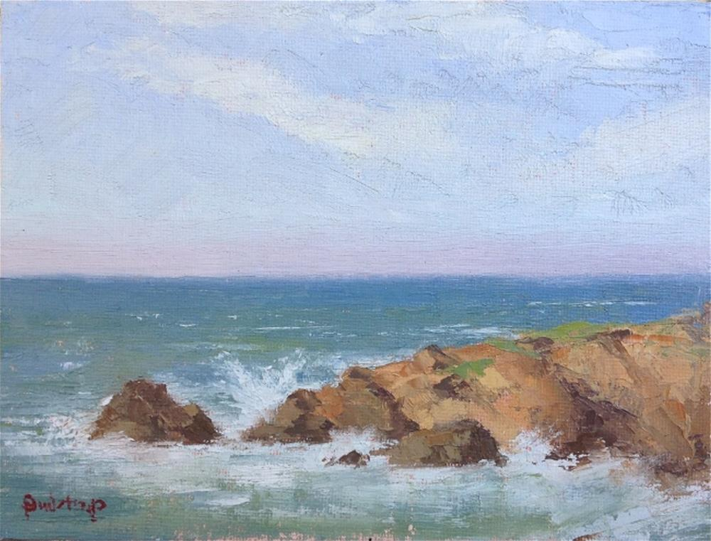 """Cambria Surf"" original fine art by Mark Bidstrup"