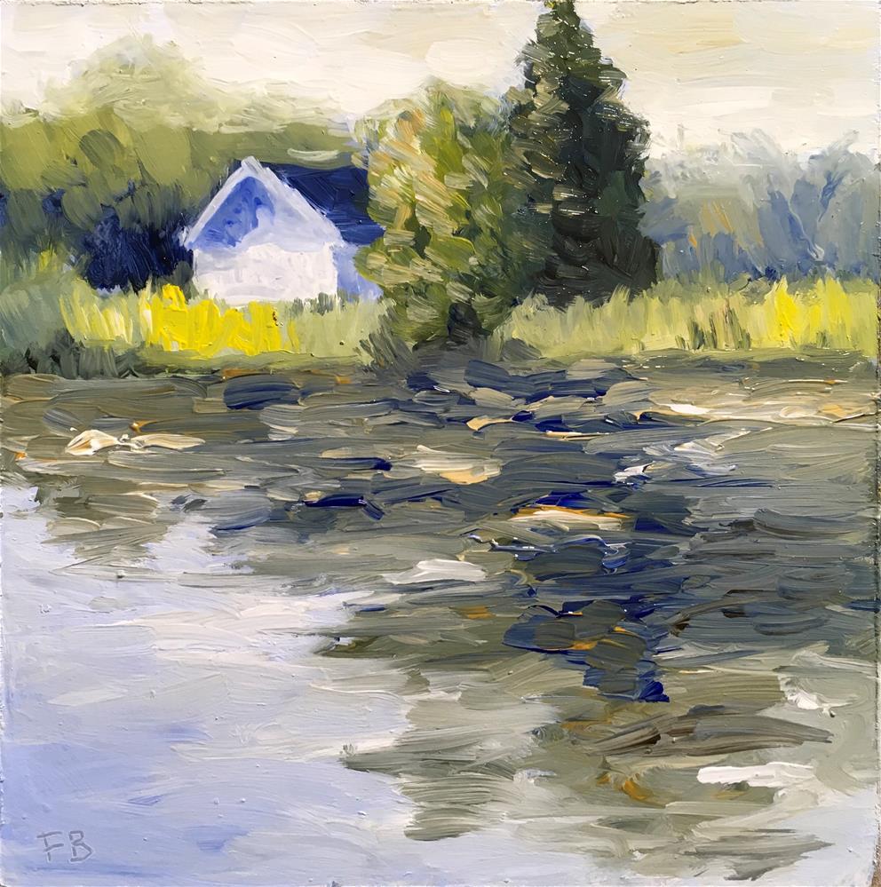 """128 Door County Landscape"" original fine art by Fred Bell"
