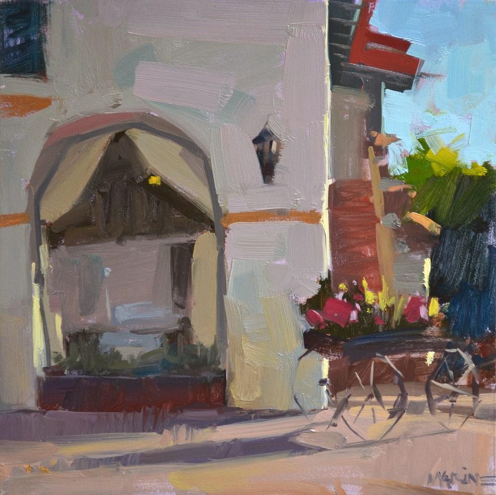 """Old Town"" original fine art by Carol Marine"