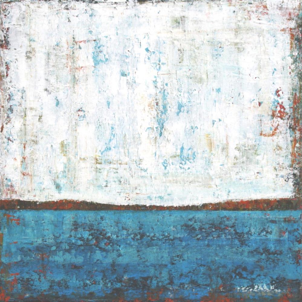 """Sea of Blue"" original fine art by Sage Mountain"