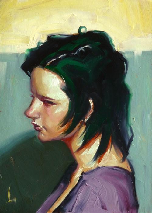 """""""Veg"""" original fine art by John Larriva"""