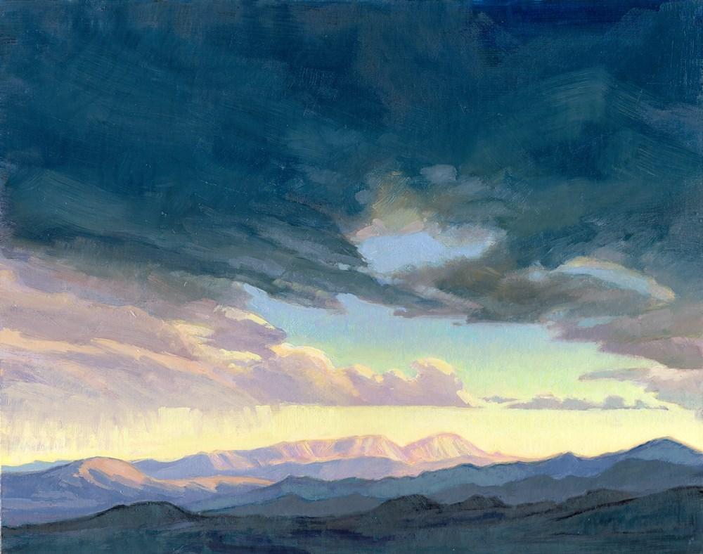 """Nevada Sky #1"" original fine art by Kath Reilly"