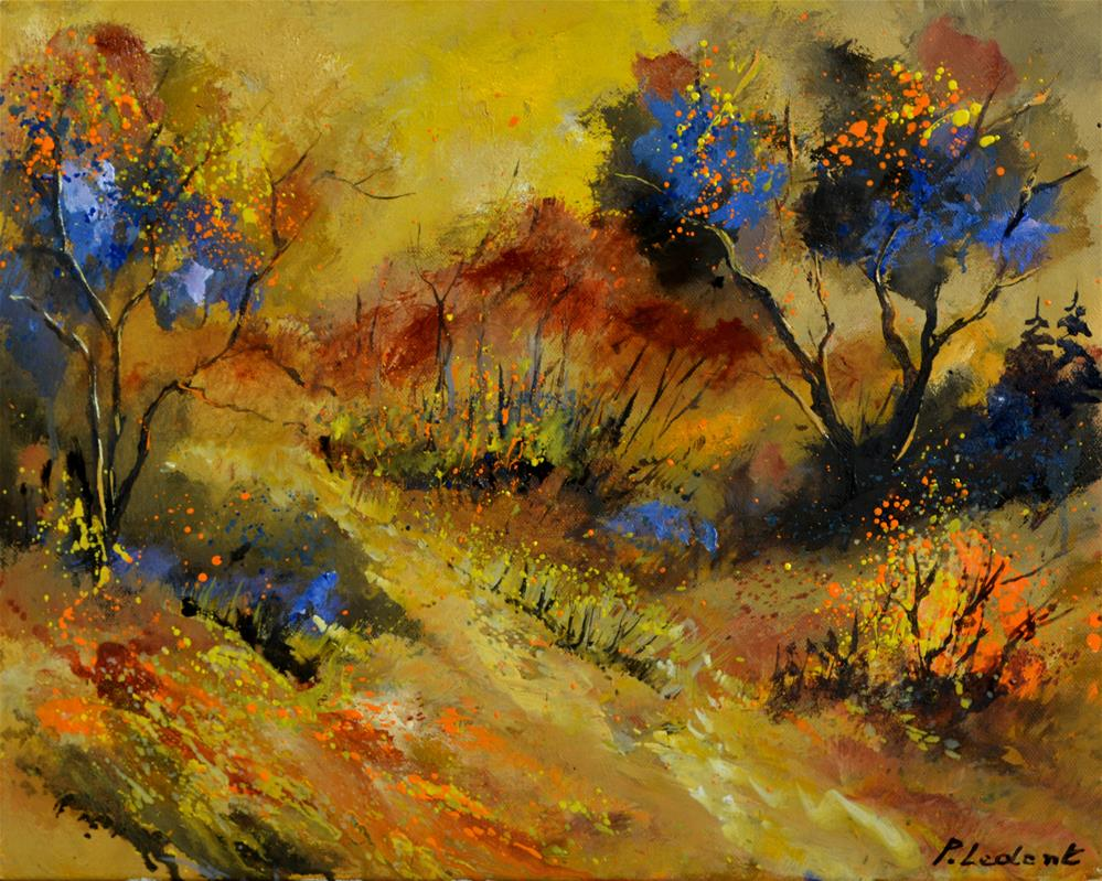 """autumn 546190"" original fine art by Pol Ledent"