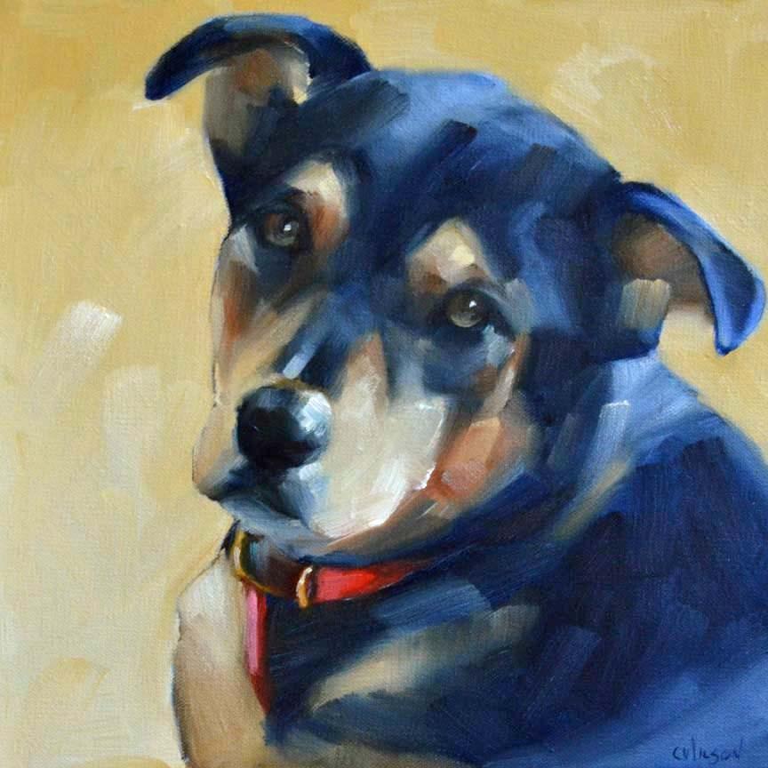 """Phoebe"" original fine art by Cheryl Wilson"