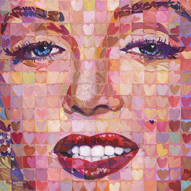 """I ♥ Marilyn #6"" original fine art by Randal Huiskens"