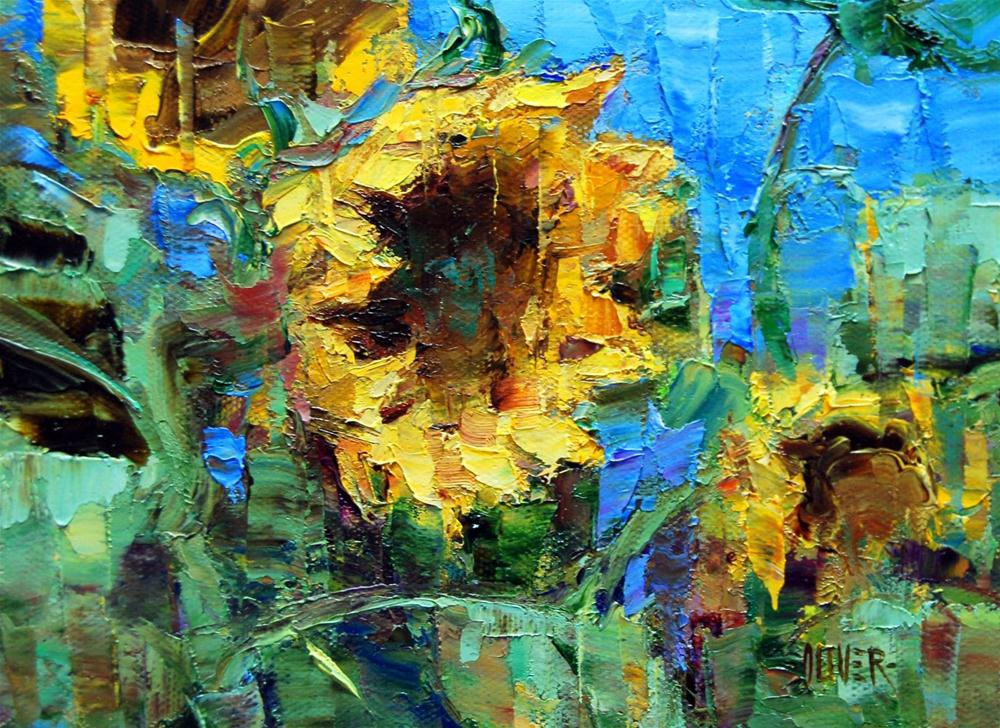 Follow The Sun? original fine art by Julie Ford Oliver