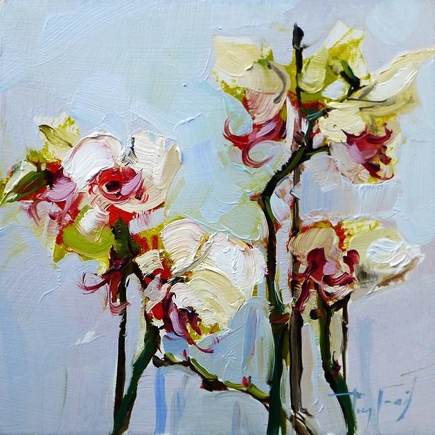 """Blumen"" original fine art by Jurij Frey"