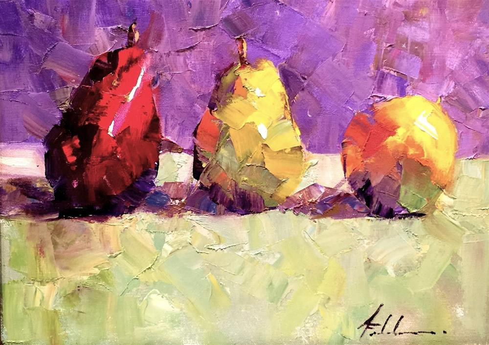"""New Work at J Petter Gallery"" original fine art by Ann Feldman"