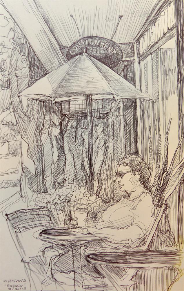 """sketchbook110"" original fine art by Katya Minkina"